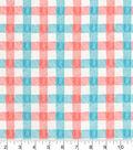 Snuggle Flannel Fabric 42\u0027\u0027-Wildflower Plaid
