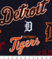 Detroit Tigers Fleece Fabric-Cooperstown, , hi-res