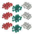 Learning Advantage Red, Green & White Dice, 36 Per Pack, 3 Packs