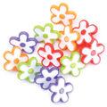 Favorite Findings Buttons-Daisy Dots 11/Pkg