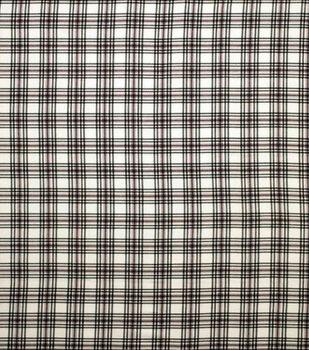 Super Snuggle Flannel Fabric-Amelia Plaid