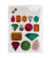 DCWV Mini Adhesive Mirrors: Jewels, , hi-res