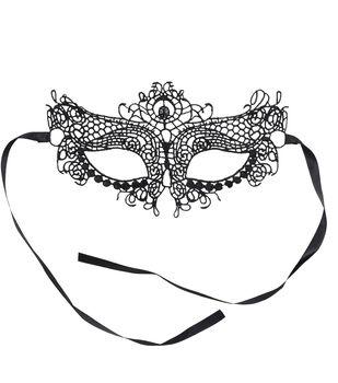 Maker's Halloween Mask-Lace Black
