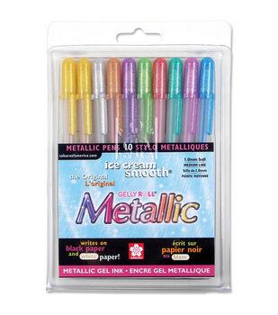 Sakura Gelly Roll Medium Point Pens-10PK/Metallic