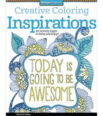 Adult Coloring Book-Creative Coloring Inspirations