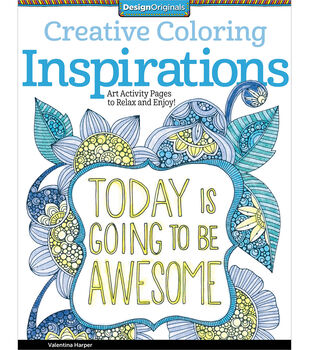 Adult Coloring Book Creative Inspirations