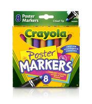 Crayola Poster Markers 8/Pkg-, , hi-res