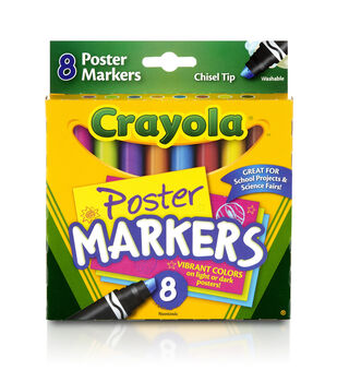 Crayola Poster Markers 8/Pkg-