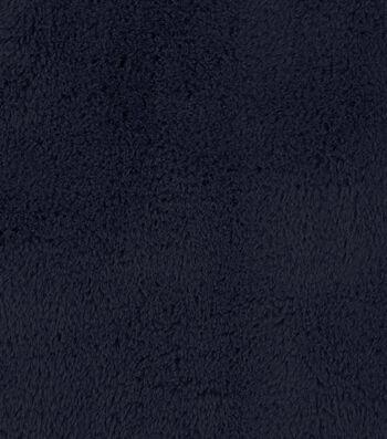 "Fashion Faux Cheshire Fur Fabric 57""-Navy"