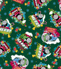 Christmas Cotton Fabric -Thomas the Train