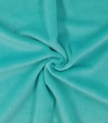 "Soft & Minky Fleece Fabric 57""-Solids"