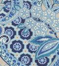 Waverly Upholstery Fabric 54\u0027\u0027-Lapis Moonlit Shadows