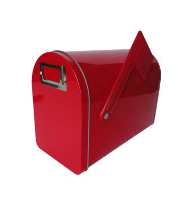 Mailbox Med Red