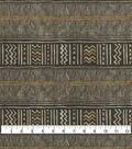 Ellen DeGeneres Upholstery Fabric 54\u0027\u0027-Charcoal Los Feliz