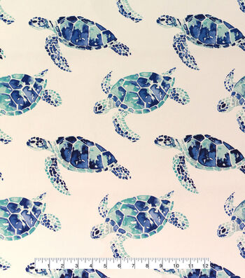 Outdoor Fabric 54''-Turtles