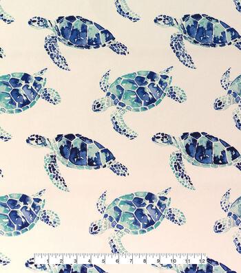 Outdoor Fabric 54''-Turtles