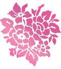 Couture Creations C\u0027est La Vie 1.5\u0027\u0027x1.6\u0027\u0027 Hotfoil Stamp-Rosy Bouquet