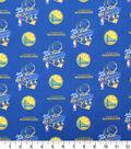 Golden State Warriors Cotton Fabric -2018 Championship