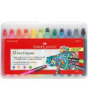 Gel Crayons-12/Pkg, , hi-res