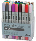 Copic Ciao Marker Set-36PK/Set E