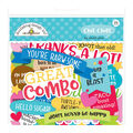 Doodlebug Odds & Ends Die-Cuts 94/Pkg-So Much Pun Chit Chat