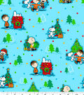 Holiday Cotton Fabric -Peanuts Christmas