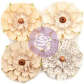 Prima Marketing Mulberry Paper Flowers -Neutral Beauty/Pretty Pale