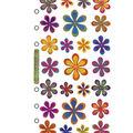 Sticko Classic Stickers-Funky Flowers