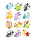 Owl Pals Colorful Cut Outs 36/pk, Set Of 6 Packs