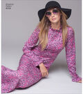 Simplicity Pattern 8256 Misses\u0027 Vintage 1970s Dresses-Size H5 (6-14)