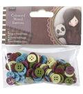 Santoro Gorjuss 100pcs Colored Mixed Buttons