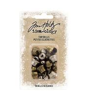 Idea-Ology Tiny Metal Bells 30/Pkg-Nickel & Copper, , hi-res