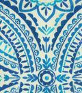 Kelly Ripa Home Outdoor Fabric 13x13\u0022 Swatch-Blissfulness Indigo