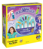 Creativity for Kids Calming Swirl Charm Kit, , hi-res