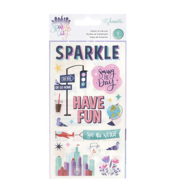 Shimelle Sparkle City Rub-Ons