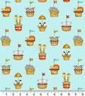 Snuggle Flannel Fabric -Animals of Noah\u0027s Ark
