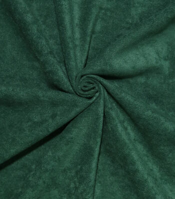 Halloween Alova Suede Fabric 60''-Green