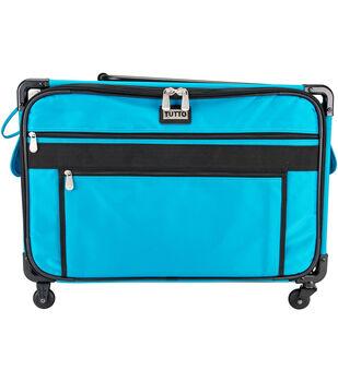 TUTTO XL Machine on Wheels Case-Turquoise