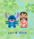 Lilo & Stitch No-Sew Fleece Throw 48\u0022-Tropical