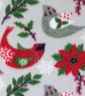 Anti-Pill Fleece Fabric 59\u0022-Folk Birds