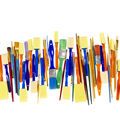 KINGART Paint Brush Value Pack 50/Pkg-Mixed Media