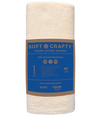 Softncrafty Nat Cott By The Yard 90x20yd