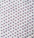 Silky Stretch Chiffon Fabric 57\u0027\u0027-Tossed Pink Ditsy Flowers