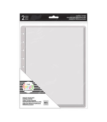 The Happy Planner 2 pk Create Your Own Custom Covers-Clear