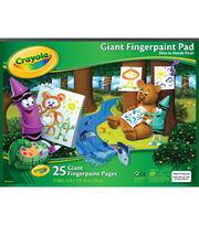 "Crayola Giant Fingerpaint Paper Pad 16""X12""-25 Sheets, , hi-res"