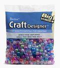Big Value Pony Transluscent Beads-Multi Color
