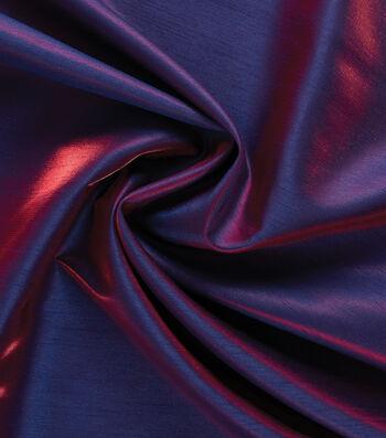 Yaya Han Cosplay Dual Fantasy Dupioni Fabric 54''-Royal & Red