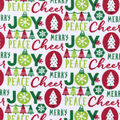 Snuggle Flannel Fabric -Cheer Joy Peace Merry