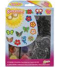 Suncatcher Group Activity Kit-12PK/Butterfly & Flowers