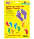 Footprints Classic Accents Variety Pack, 36 Per Pack, 6 Packs